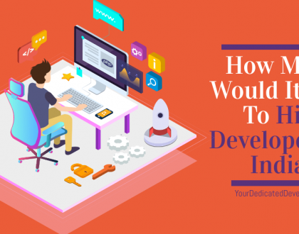 How much would it cost to hire developers in india